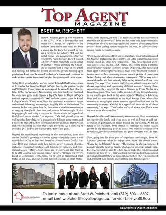 Featured: Top Agent Magazine Article